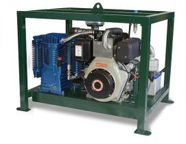 Pressure Lube International Diesel Air Compressor PLI-DPAC-ES